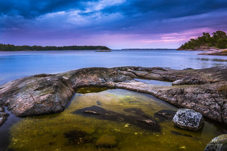 Sunset at Fjärdlång, Stockholm Archipelago   © Tommie Hansen/Flickr