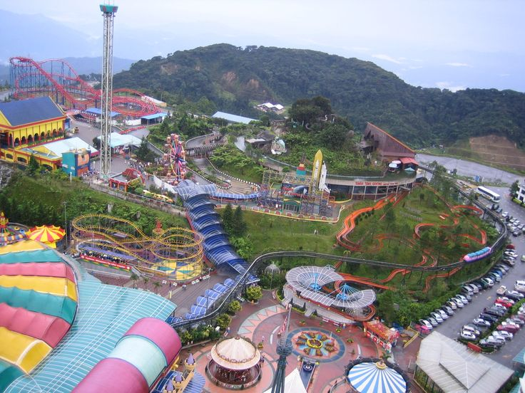 Genting Highlands With Outdoor Ticket On Private Basis: Explore Genting Highlands at your own pace and leisure. Enjoy rides in various theme parks and have a great time in the Genting. Take a relaxing drive through the dense tropical forest, which will charm you. You will be driven to the lower Genting hill, from here take a fascinating Cable Car ride from the Lower hill to the upper hill of Genting. #dpauls