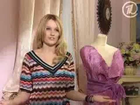 Ольга Никишичева. Платье из гофрированного шелка