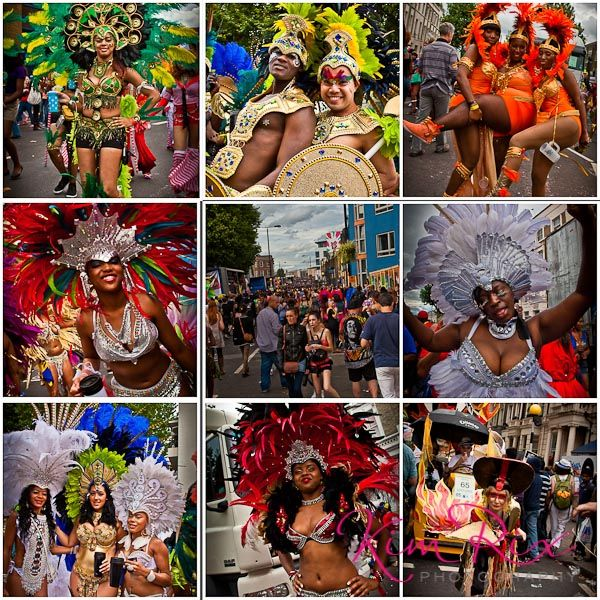 Partying at the Nottinghill Carnival Party 2012. Everyone was really happy to pose for me!