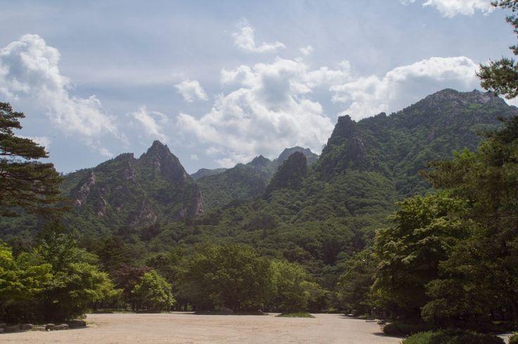 Seoraksan National Park in Sokcho Korea