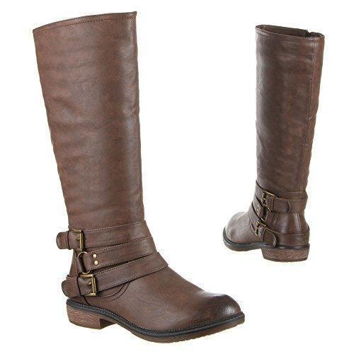 Oferta: 21.89€. Comprar Ofertas de Edelnice Trachtenmode - Botas para mujer Marrón marrón barato. ¡Mira las ofertas!