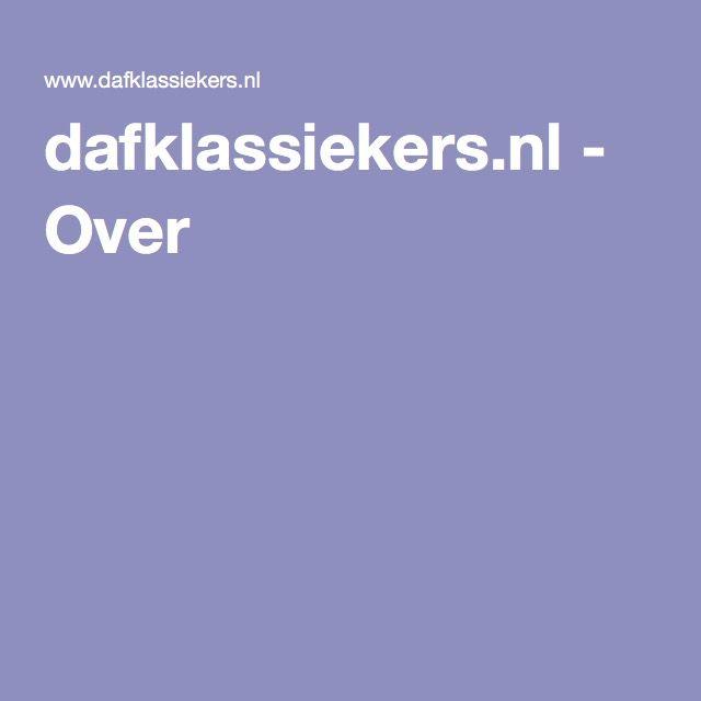 dafklassiekers.nl - Over