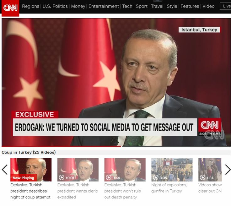 Exclusive: Turkish president won't rule out death penalty.  Through his translator, Turkish President Recep Tayyip Erdogan tells CNN's Becky Anderson he would approve reinstating the death penalty if lawmakers approve the measure.