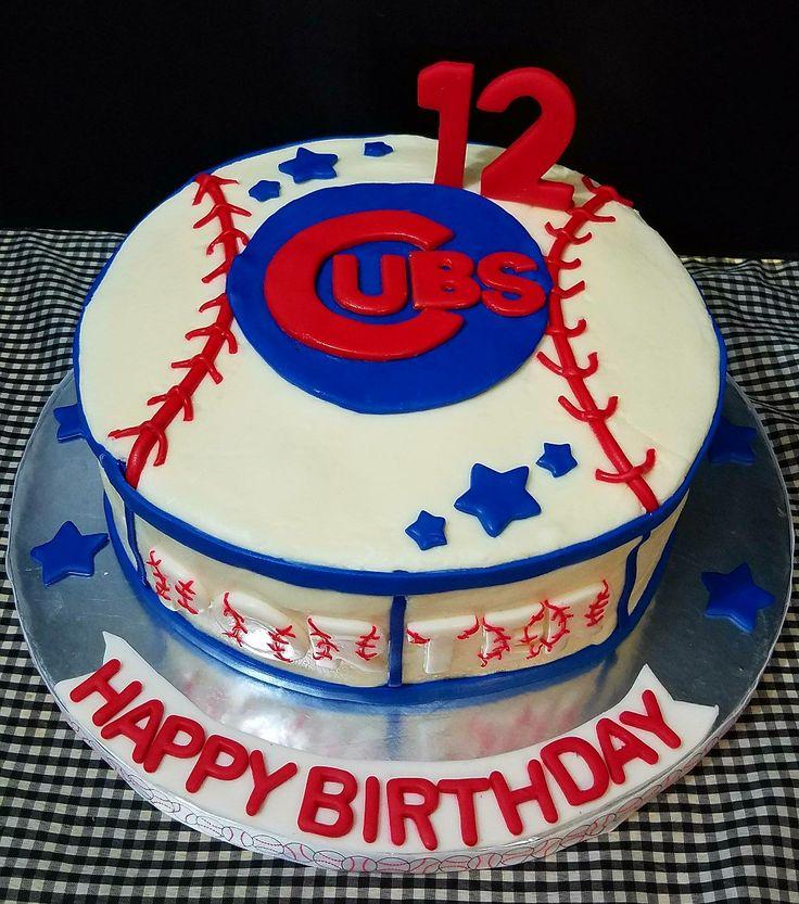 Cubs Birthday Cake