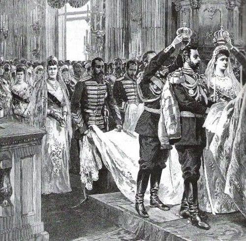 Matrimonio Romanov : Images about la boda de nicolas ii rusia con