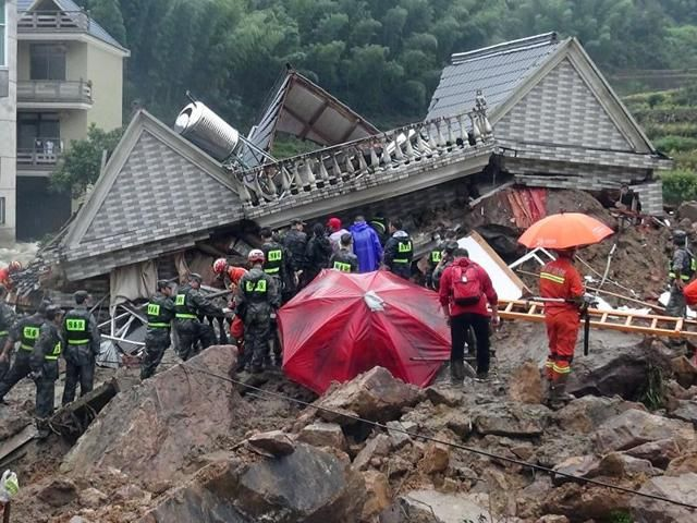 33 people missing after landslides in China state media reports - Hindustan Times