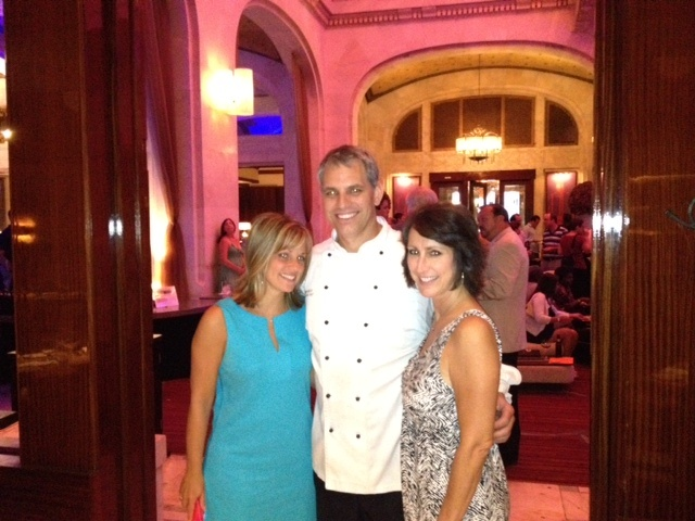 Star 100.7FM Melanie Taylor and Shelley Duffy with Executive Chef Dean from Braddock's for Girls Night Out