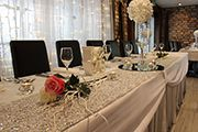 Because attention to detail is paramount on the day, the team at Northridge offer a total wedding service.