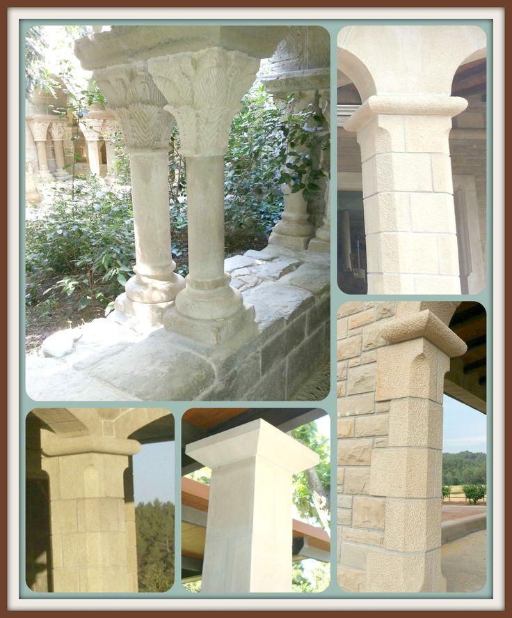 #AreniscasMonistrol#piedranatural#columnas