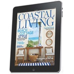 Coastal Living Magazine~  Don't forget to check out the website links in the back of the magazine.