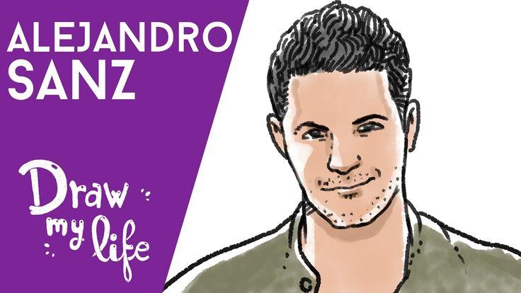 LA VIDA DE ALEJANDRO SANZ - Draw My Life en Español