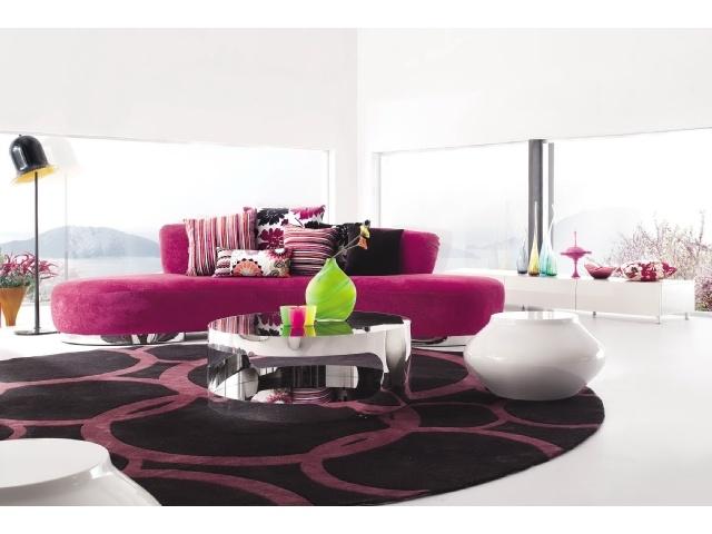 sofa in an organic shape, just love it.