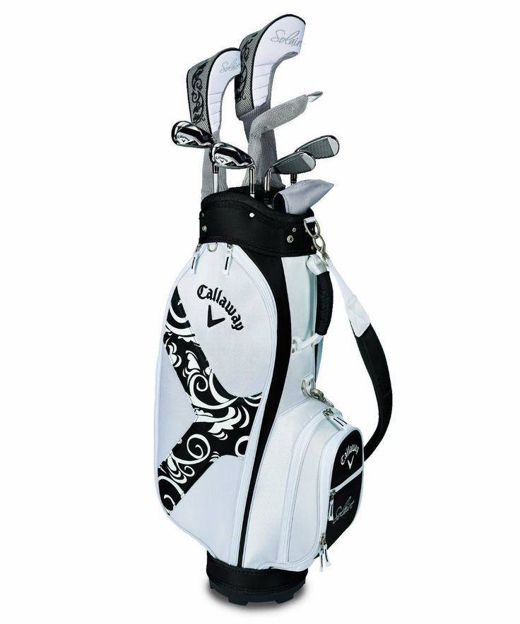 Callaway Womens Solaire II 9-Piece Complete Golf Club Sets