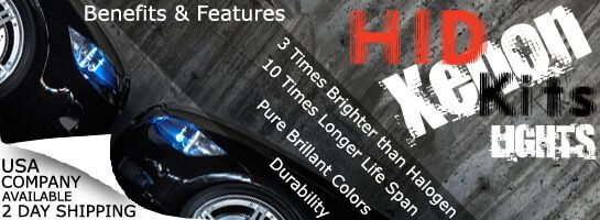Factory direct distributor for HID Kits & LED Headlight bulbs. We specialize in HID conversion kits and Automotive LEDs. Upgrade your low beams, high beams, or fog lights on your car, truck, SUV, ATV, motorcycle, or snowmobile today!
