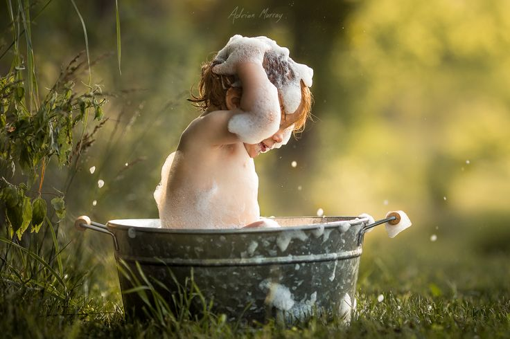 Bath Time Splash - Thank you so much for the editor's choice, Jake Olson! Happy almost Father's Day!