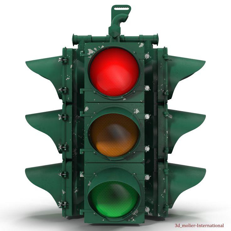 Stop light 3D Model http://www.turbosquid.com/3d-models/3d-model-stop-light/915332?referral=3d_molier-International