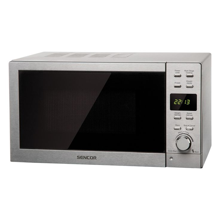 Microwave Oven SMW 6022 - Pre-programmed cooking (8 menus) - Multi-phase cooking - Quick start function