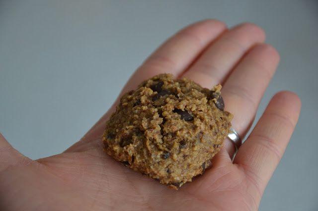drobečky: Ovesné hrudky s čokoládou