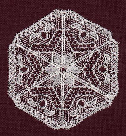 LOKK Gratis patronen - Zeshoek