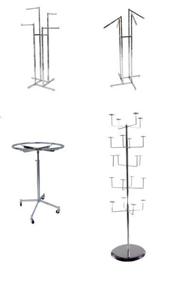 Floor, Garments & Accessories Racks – FREE Shipping Canada - http://idealdisplays.ca/05_floor_racks.html