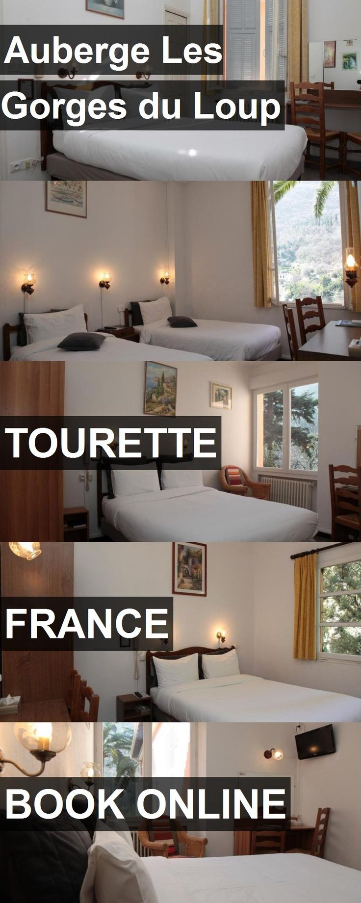 Hotel Auberge Les Gorges du Loup in Tourette, France. For more information, photos, reviews and best prices please follow the link. #France #Tourette #travel #vacation #hotel