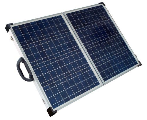 Solarland 80w 12v Portable Foldable Solar Panel Charging