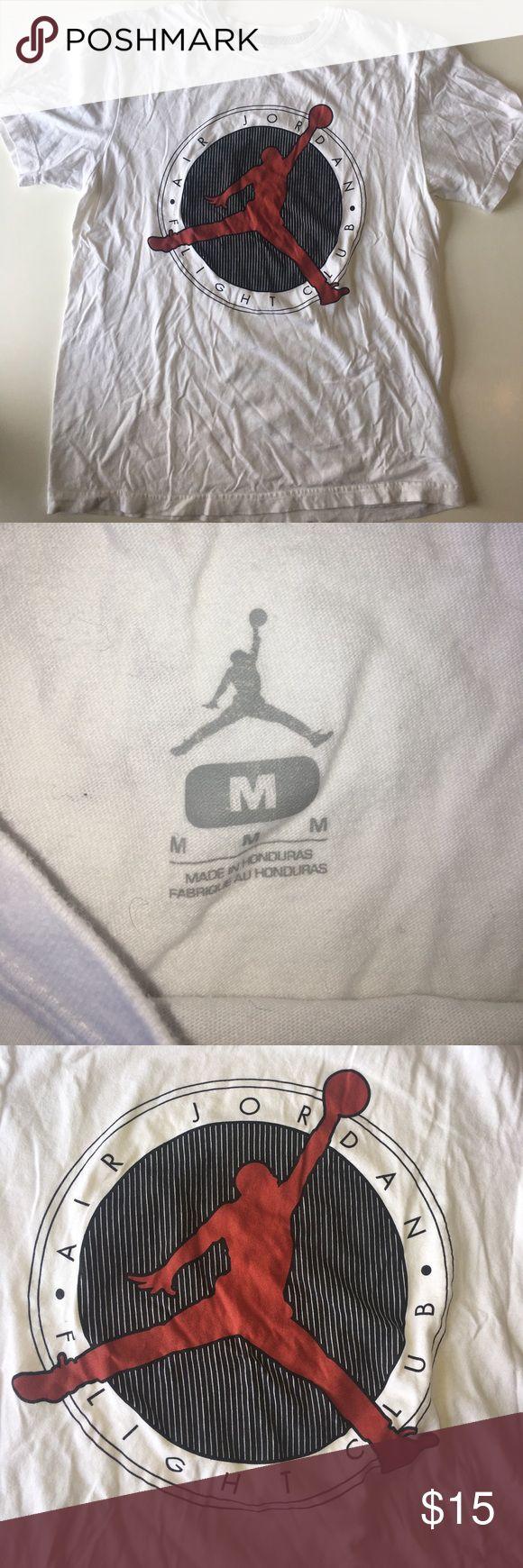 Nike Air Jordan Flight Club tee Size M Nike Air Jordan Flight Club tee in good condition.  Size M Air Jordan Shirts Tees - Short Sleeve