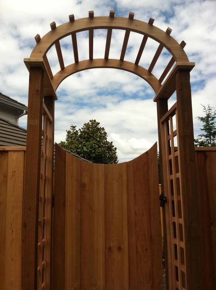 17 Best Images About Outdoor On Pinterest Wooden Gates