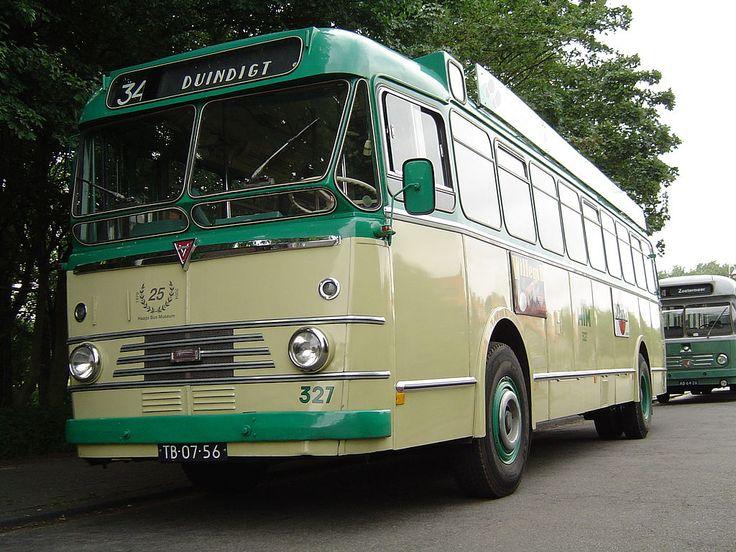 1958 Kromhout TBZ100-Verheul stadsbus 327, HTM,Den Haag.