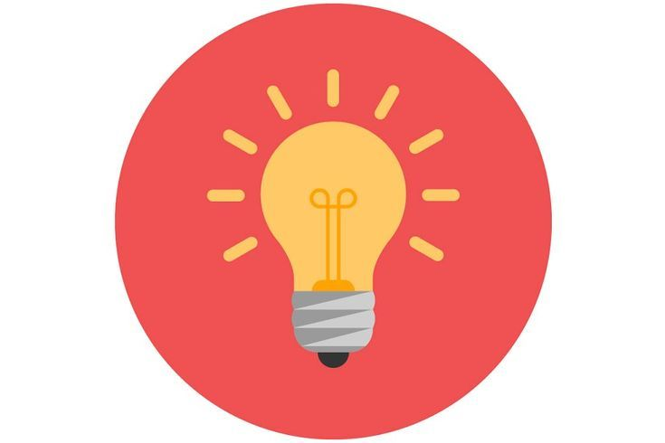 Flat Icons Light Infographics In 2020 Flat Icon Light Bulb Icon Light Icon