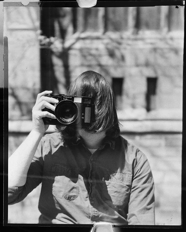 another 4x5 portrait of @52rolls. I need a better scanner... Arista EDU 100   Calumet CC-410   Ektar 203mm f/7.7 #danslifeinfilm #4x5 #largeformat #filmphotographic #filmisnotdead #aristaedu100 #arista #filmshooters #makeportraits #portrait