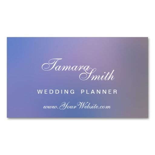 159 Best Event Planner Business Card Templates Images On Pinterest