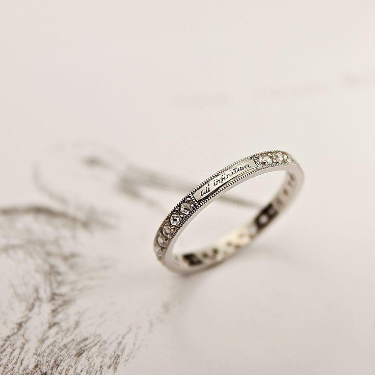 41 best Ringe images on Pinterest   Rings, Platinum wedding rings ...