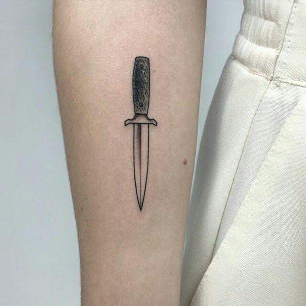 25+ Best Ideas About Knife Tattoo On Pinterest