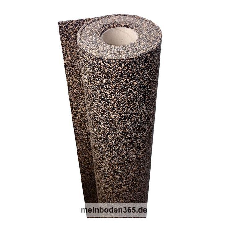 uficor Gummikork UL 26 Diese Dämmunterlage aus Kork-/Gummigranulat-Verbundmaterial verfügt über eine sehr gute Druckstabilität und zeichnet sich zudem durch ihre Eigenschaften im Bezug auf Trittschall- und Wärmedämmung aus. Selbst kleinere Unebenheiten des Bodens gleicht diese Unterlage problemlos aus. Die uficor Gummikork Unterlage ist sehr gut für die Verlegung unter 2-Schicht-Parkett, 3-Schicht-Parkett, Massivholzdielen, Vinylböden zum Verkleben und ca. 10 mm starkem Klick-Vinylböden…