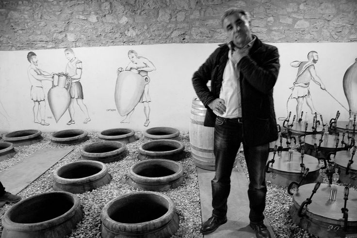 Giusto Occhipinti, winery COS, Sicily