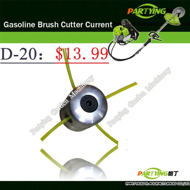 Free Shipping petrol lawn mower trimmer head 2-stroke brush cutter head grass cutting machine gasoline plastic  D-20