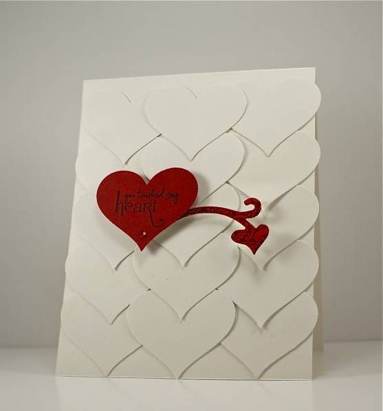CAS156 & TLC363 You touched my Heart by Arizona Maine - Cards and Paper Crafts at Splitcoaststampers
