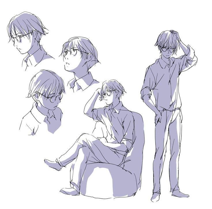 「眼鏡男子を考える。」