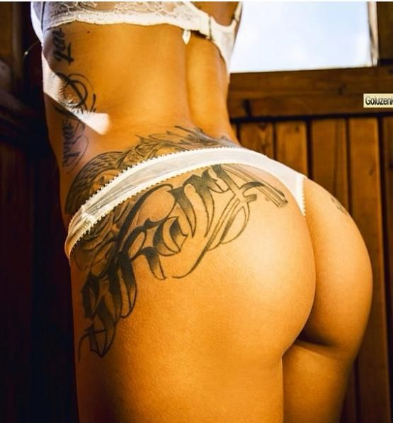 SEXY TATTOOED BOOTIES THAT WILL LEAVE YOU SPEECHLESS