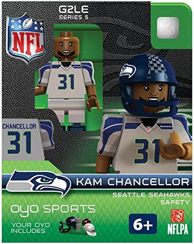 awesome Kam Chancellor OYO NFL Seattle Seahawks G2 Series 5 Mini Figure  Limited Edition  070a5f32ba0