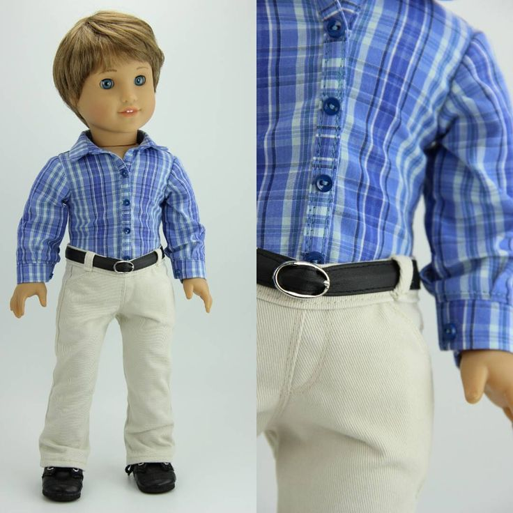 Love this outfit for an 18 inch boy doll  made by dolliciousclothing on etsy using Liberty Jane patterns!