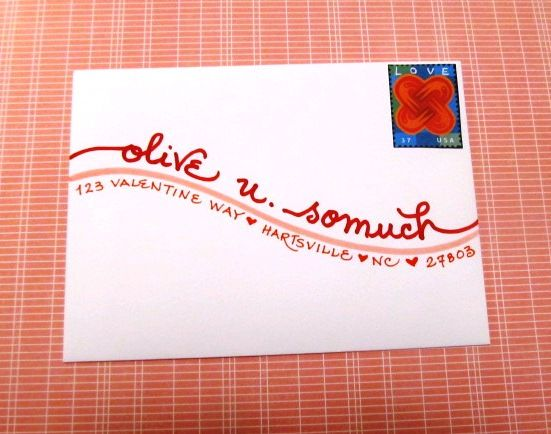 57 Best Snail Mail Images On Pinterest Calligraphy Envelope Cards