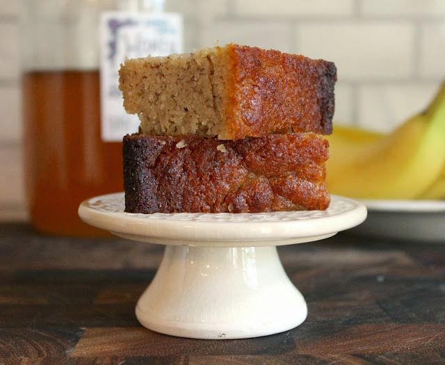The Almond Flower: Classic Banana Bread (made with Coconut Oil, Almon...