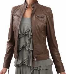 jaket kulit wanita cantik dari http://jualpromo.com