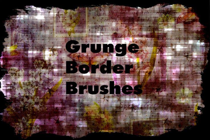 Grunge Border 1 Download brush http//www