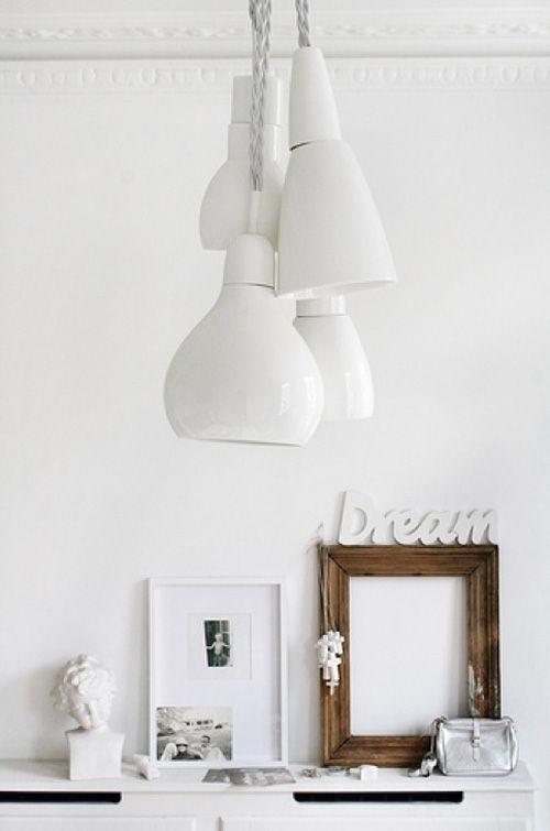 white cluster lights by Kathleen Hills