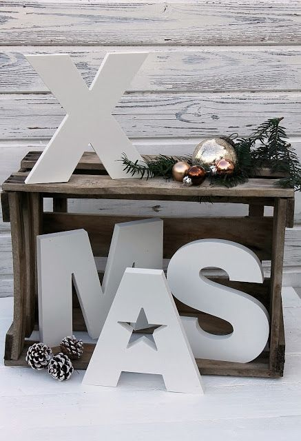 Pine Decoration for Christmas Letter