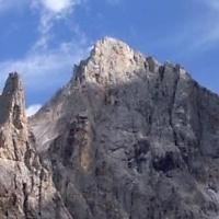 La cima della Vezzana, m. 3.192 la più alta delle Pale di San Martino